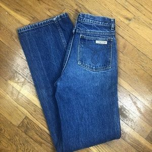 Vintage Calvin Klein jeans USA High Rise Mom 80's